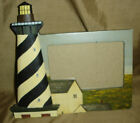 WARREN KIMBLE Coastal Breeze Lighthouse Picture FRAME AS IS! 3.5in x 5.5in
