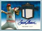 TOM SEAVER 2005 UPPER DECK HALL OF FAME CLASS OF COOPERSTOWN JERSEY AUTO 5