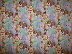 A JUNGLE BABIES ALL OVER COTTON FABRIC BY THE YARD BY PATTY REED