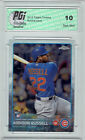 Addison Russell 2015 Topps Chrome Rookie Card #24 PGI 10 Chicago Cubs