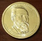 2011 P 1 James Garfield Presidential Golden Dollar 5356