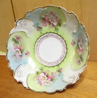 Victorian China Floral Decorated Porcelain Gilded 10