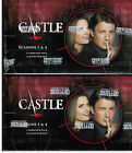 Castle Season 3 & 4 Trading Card Boxes - 2 (TWO) FACTORY Sealed Boxes Cryptozoic