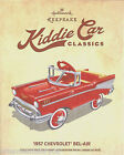 Hallmark 2015 1957 Chevrolet Bel Air Kiddie Car Classics Christmas Ornament