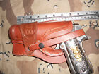 LEFT Colt RIA Ruger 1911 Holster Wild Bunch Style Field Holster Stamped US Used