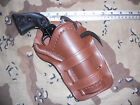 Ruger Single Six Uberti Stallion Colt 22 475 Cross Draw Western Leather Holster