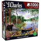 Karmin International J. Charles Afternoon at The Lake Puzzle (1000-Piece) New