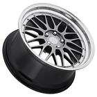 EuroTek UO3 19x95 5x120 Hyper Black Wheels Fits Bmw 5 6 7 Series 745I 750 760