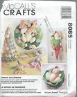 McCall's 8085 Craft Pattern EASTER DECORATIONS ~ SPRING HAS SPRUNG Bunny Eggs