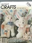 McCall's 2396 Craft Sewing Pattern ~ SOFT BUNNY PACKAGE Boy Girl ~ Rabbit EASTER