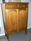 c. 1800's / Early 1900's Antique Pennsylvania Dutch-Style Pie Chest/Cabinet/Safe