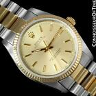 ROLEX OYSTER PERPETUAL Mens Watch Ref. 14233 - 2 Tone Stainless Steel