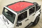 Rugged Ridge Eclipse Sun Shade Red 07 17 Jeep Wrangler Unlimited Jku X 1357925