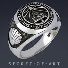 JAKOBSWEG RING CAMINO ROAD TO SANTIAGO WAY OF ST. JAMES SILBER 925 STERLING