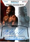 TNA D'Angelo Dinero 2012 Reflexxions SILVER Authentic Autograph Card SN 87 of 99