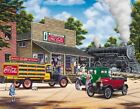 Coca-Cola All Aboard 1000 Piece Jigsaw Puzzle New