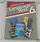 Language ARTS 6 A Beka Book Homeschool Paperback Curriculum Lesson Plans