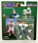 DAN MARINO / MIAMI DOLPHINS 1998 NFL Starting Lineup Action Figure and NFL Card