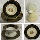 Scalloped Saucer Courting Couple