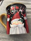 Certified International Stephanie Stouffer Santa Love Mug New