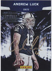 2012 Panini ANDREW LUCK ON Card National Auto Autograph RC 1 1? Indy Colts