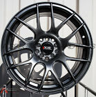 18X75 XXR 530 Wheels 5X100 1143 +38 Chromium Black Fits Veloster Mazda Speed 3