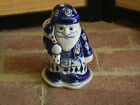 Polish pottery stoneware Boleslawiec Santa light 2