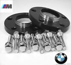 2 Pc BMW 7 SERIES HUB CENTRIC Wheel Spacers 15mm Black Anodized  5120 72 15BK