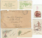 WW1 Australia military cover AIF Field PO 5 used 1918 inc 6 gift cards France