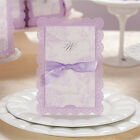 Custom Purple Wedding Invitation Cards with Envelopes Personalized Printing