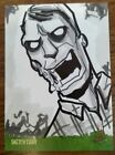 Night of the Living Dead Sketch Card Michael Duron Zombie Walking Dead