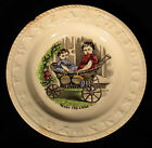 SON England ABC ALPHABET CHILDREN'S PLATE Ready for Ride