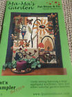 PATS SAMPLER SERIES 103 QUILT PATTERN MA MAS GARDEN SUNFLOWER BEES FLOWERS