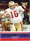 2011 Topps Super Bowl Legends #SBLXVI Joe Montana - NM-MT