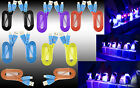 Premium Smiley LED Heavy Duty Data Sync Charging Flat Cable Cord For LG Phones