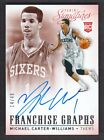2013-14 Panini Signatures Franchise Graphs 22 Michael Carter-Williams Auto 14 49