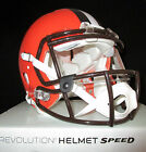 CLEVELAND BROWNS Full Size AUTHENTIC SPEED Helmet - With VISOR (NFL LICENSED)