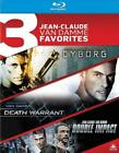 CYBORG DEATH WARRANT DOUBLE IMPACT USED VERY GOOD BLU RAY
