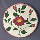 Blue Ridge 10-1/2 Inch Floral Plate Southern Potteries