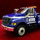 LAST Rare NYPD NEW YORK POLICE DEPARTMENT Jerr Dan WRECKER First Gear TOW