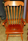 Maple Andover Finish Rocker / Rocking Chair by Tell City  (RP-R79)