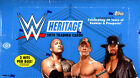 2015 TOPPS WWE HERITAGE WRESTLING HOBBY BOX FACTORY SEALED NEW