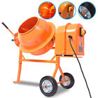 50l 50 LITRE 375w 230V ELECTRIC PORTABLE CONCRETE CEMENT MORTAR PLASTER MIXER
