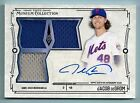 JACOB DEGROM 2015 TOPPS MUSEUM COLLECTION TRIPLE JERSEY AUTOGRPAH AUTO 249 METS