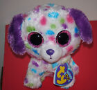 Ty Beanie Boos ~ DARLING the Dog 6 Inch (Justice Exclusive) MWMT