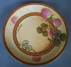 Antique Flambeau French Limoges Cabinet Plate, artist signed A. Bronssilon