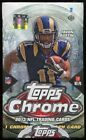 2013 TOPPS CHROME FOOTBALL SEALED HOBBY BOX auto rc deandre hopkins eddie lacy