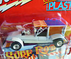 Johnny Lightning WHITE LIGHTNING SURF ROD By Barris SURF HEARSE George Barris