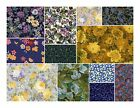 Hooked on FQs FREE SHIP 50 3999 Floral TOP Quality Fabric quilting
