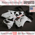 Unpainted Drilled Fairing Kit Bodywork For Kawasaki Ninja 250R EX250 2008-2012